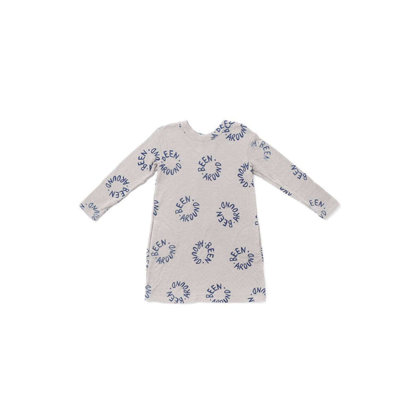 OMAMIMINI:Girls Long Sleeve Tee Dress with