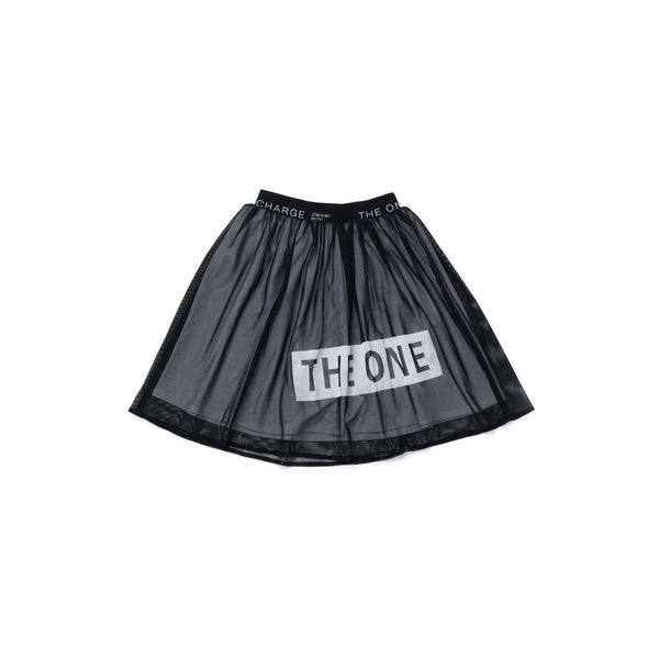OMAMIMINI:Girls Mesh Skirt with