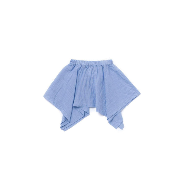 OMAMIMINI:Girls Striped Handkerchief Skirt | Blue OM355