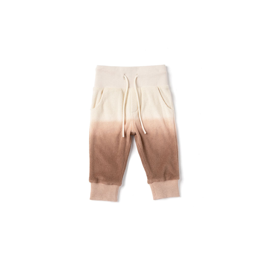 Baby Terry Sweatpants | Mocha Ombre OM513