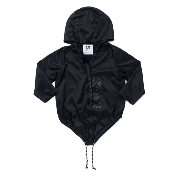 OMAMIMINI:Kids Raincoat with Hood | Black OM281