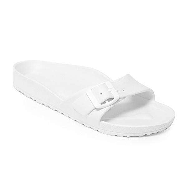 OMAMIMINI:Kids Slide Sandals | White