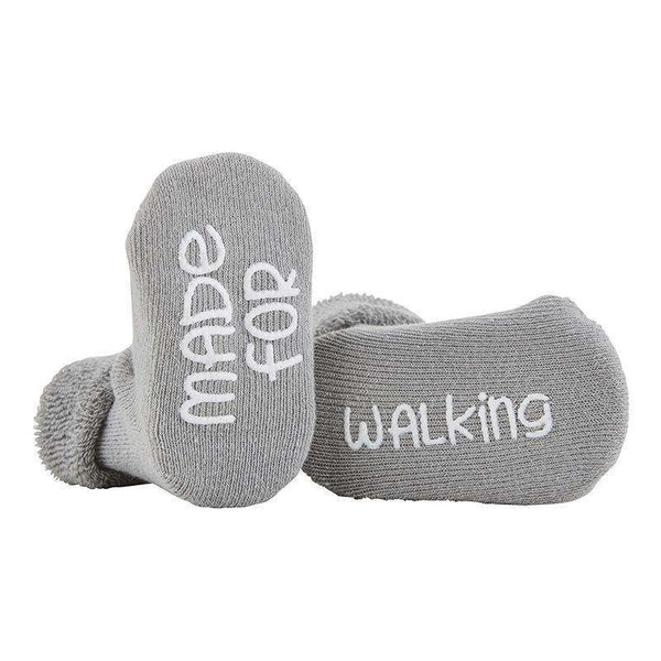 OMAMIMINI:Made For Walking Baby Socks | Gray