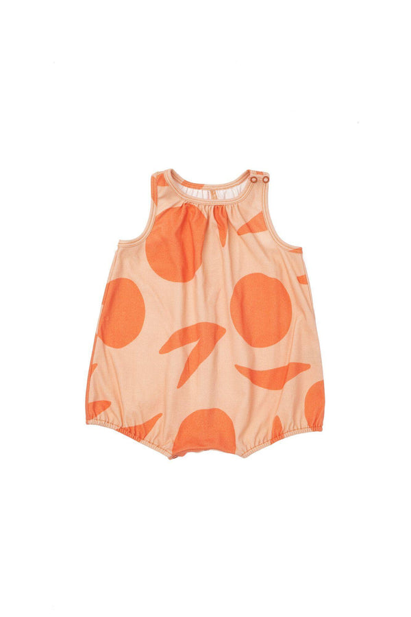 Baby Bubble Romper - Peach | OM435