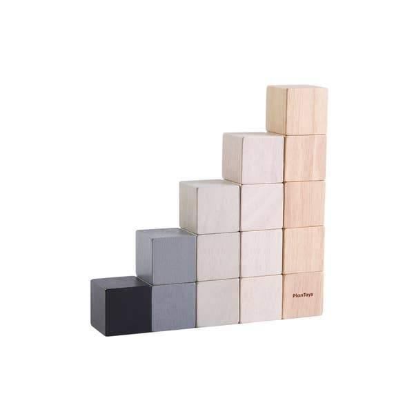 Grey Ombre Wooden Blocks Set
