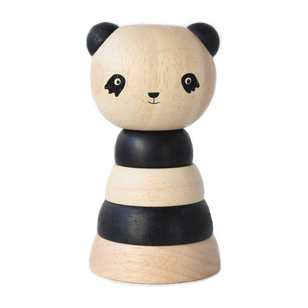 Wooden Stacker | Panda