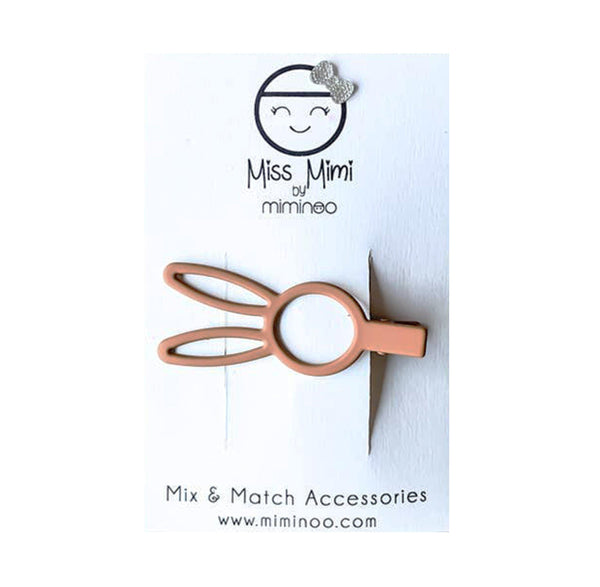 Bunny Rabbit Hair Clip - Terracotta