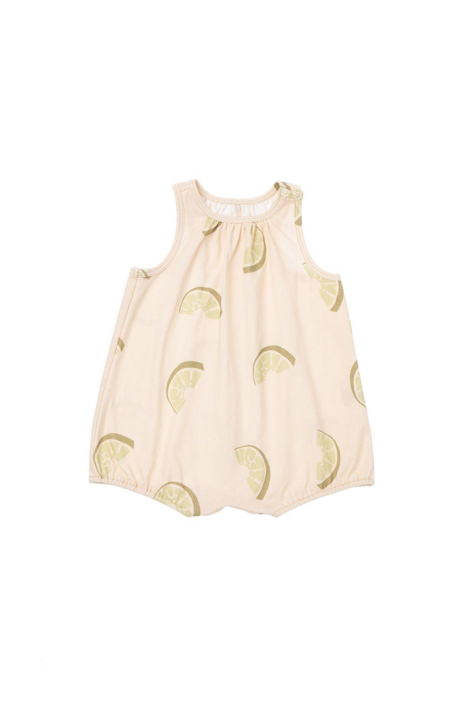 Baby Bubble Romper - Olive Fresh | OM435