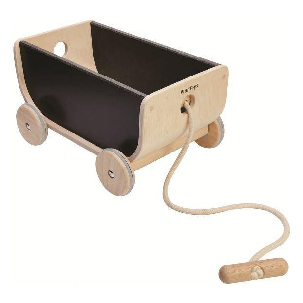 Plan Toys Pull Wagon | Black