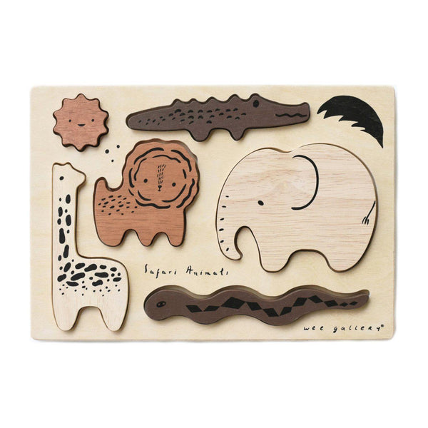 Wooden Puzzle | Safari Animals