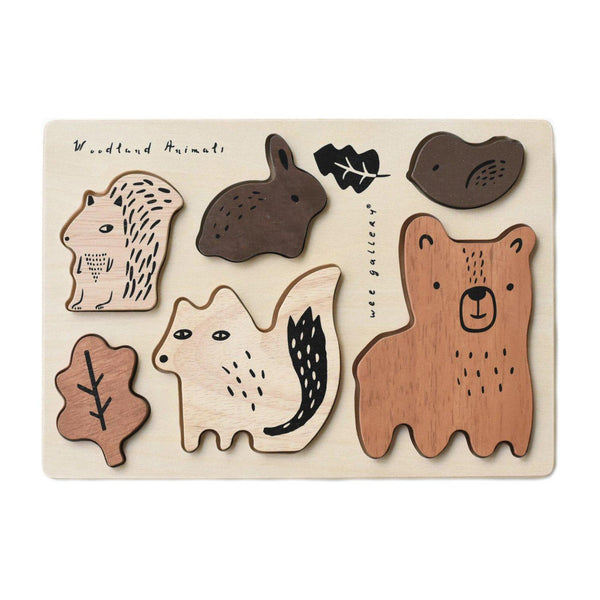 Wooden Puzzle | Woodland Animals