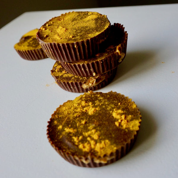Golden Chocolate Cashew Cups