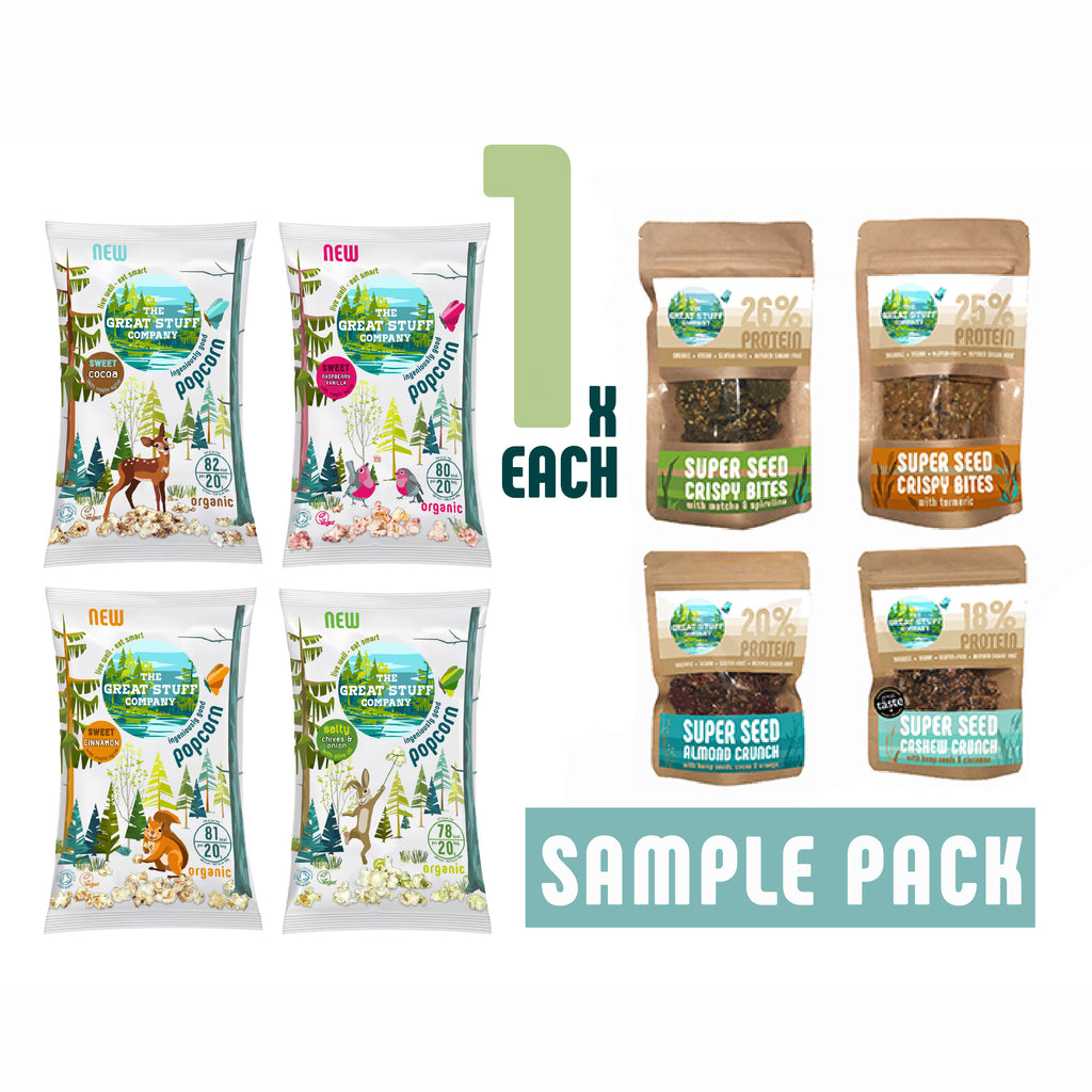 Sample Pack - All Products, free shipping