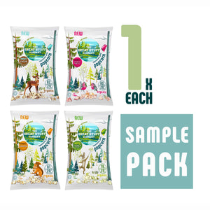 Sample Pack - Popcorn, free shipping