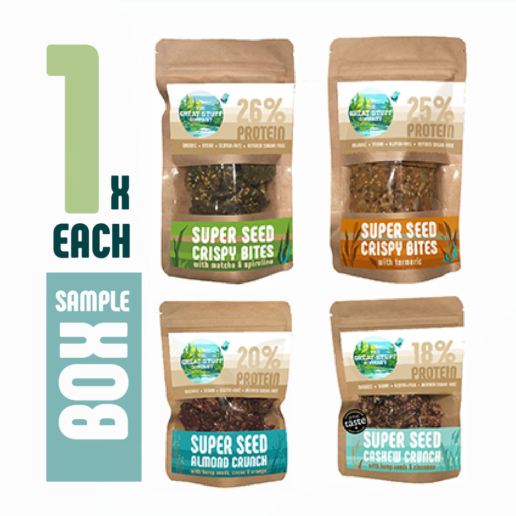 Sample Pack - Super Seed Range, free shipping