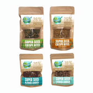 The Large Bites & Crunch Collection - 20 bags - free shipping