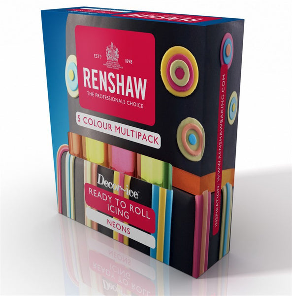 Renshaw Multipack - Neon Colours 5 x 100g