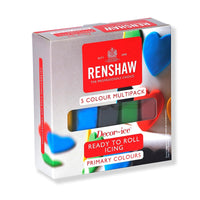 Renshaw Multipack - Primary Colours 5 x 100g