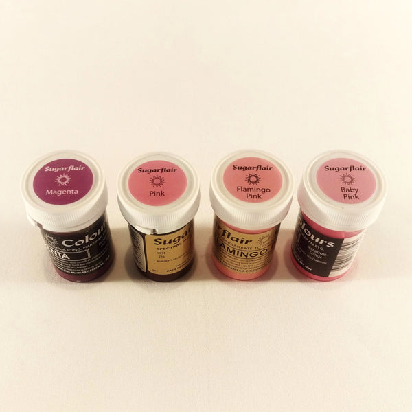 Sugarflair Paste - Pastel Magenta Colour 25g