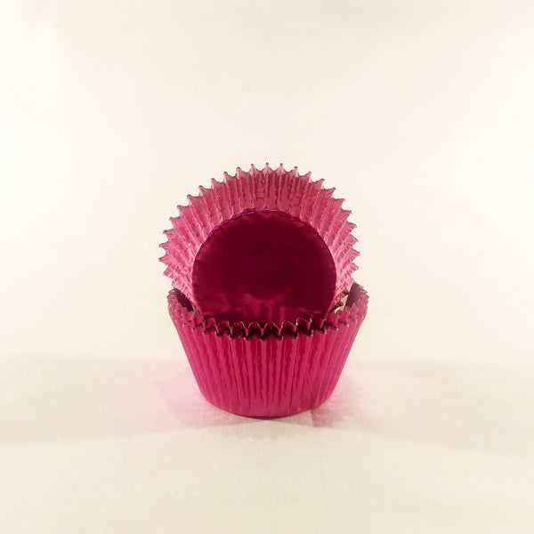 Cupcake Cases (Foil) 60 - Pink