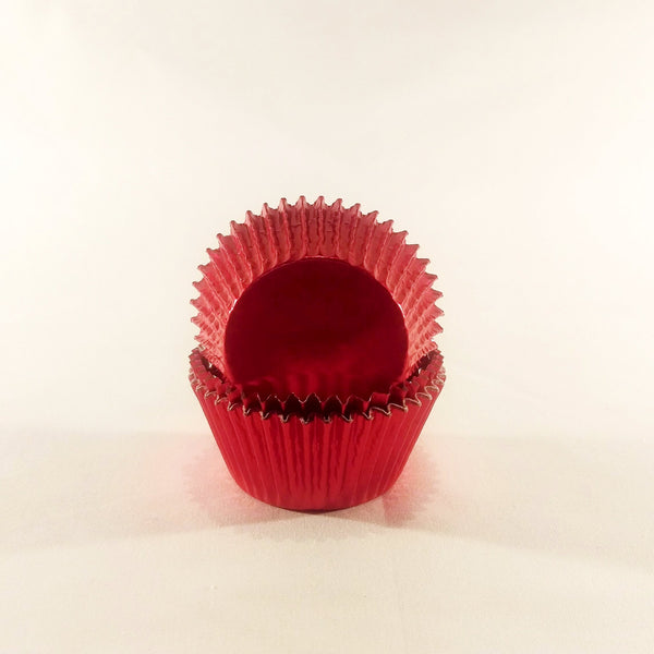 Cupcake Cases (Foil) 60 - Red