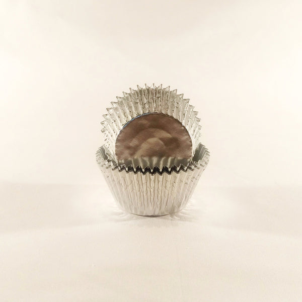Cupcake Cases (Foil) 60 - Silver