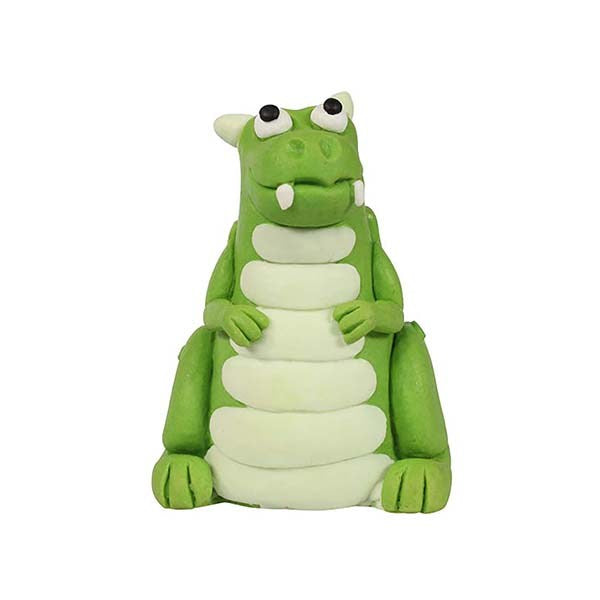 Kids - Green Dragon Cake Topper
