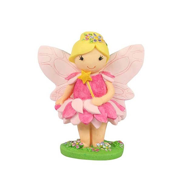 Kids - Pink Fairy Cake Topper