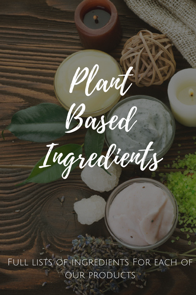 Peace Organics Ingredient Lists