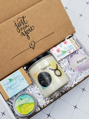 Taurus Zodiac Candle and Soap Set