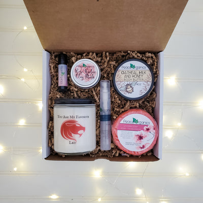 You Are My Favorite Leo Candle and Spa Set