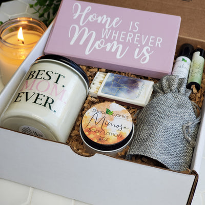 Best Mom Ever Candle and Spa Set