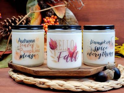 Fall Candle Three Pack