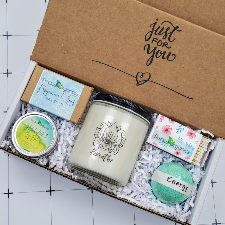 Breathe Candle and Soap Set