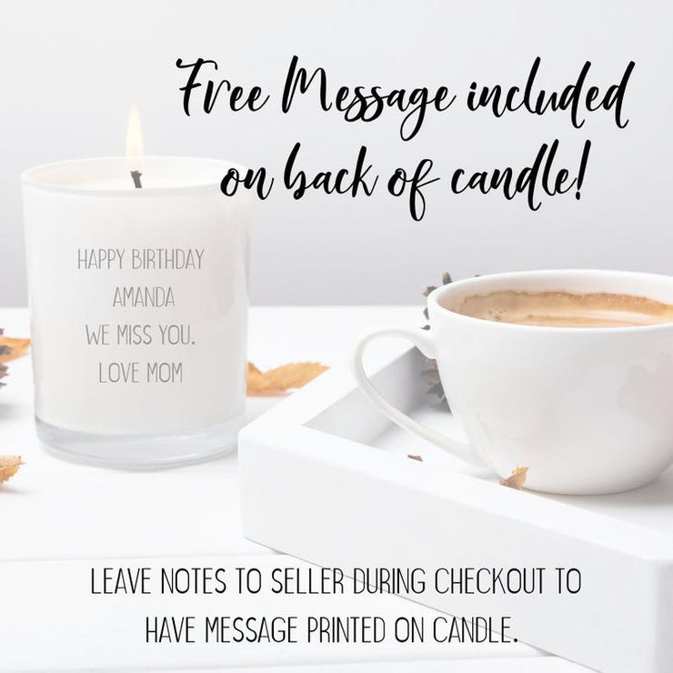You Are Enough Soy Candle Gift