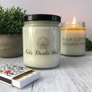 Aries Zodiac Soy Candle Gift