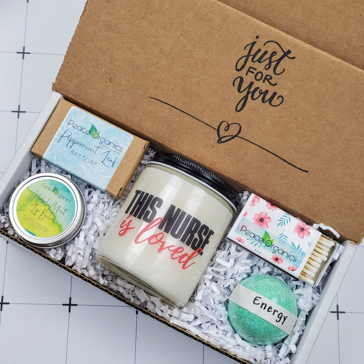 This Nurse Is Loved Candle and Soap Set