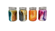 Watercolor Soy Wax Candle