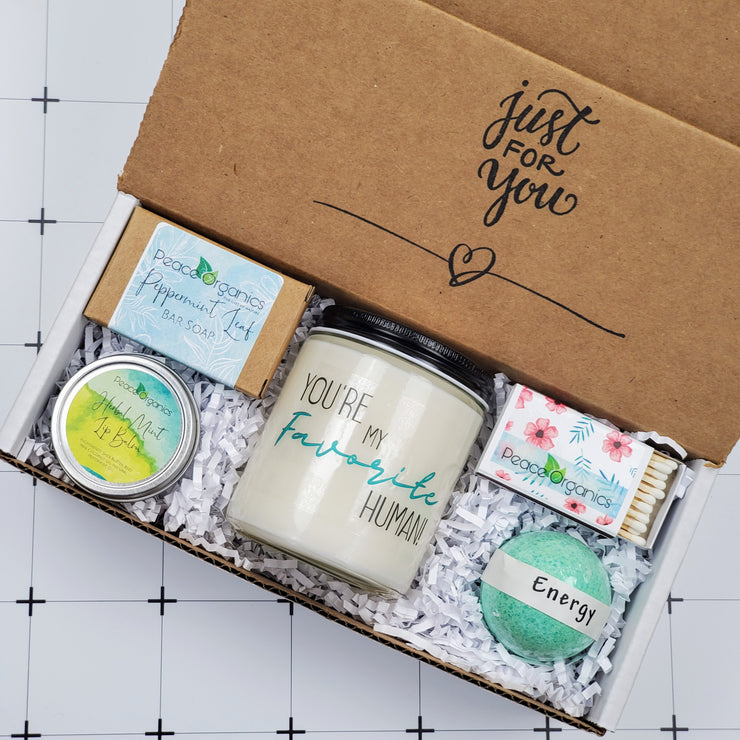 You're My Favorite Human Candle & Soap Gift Box