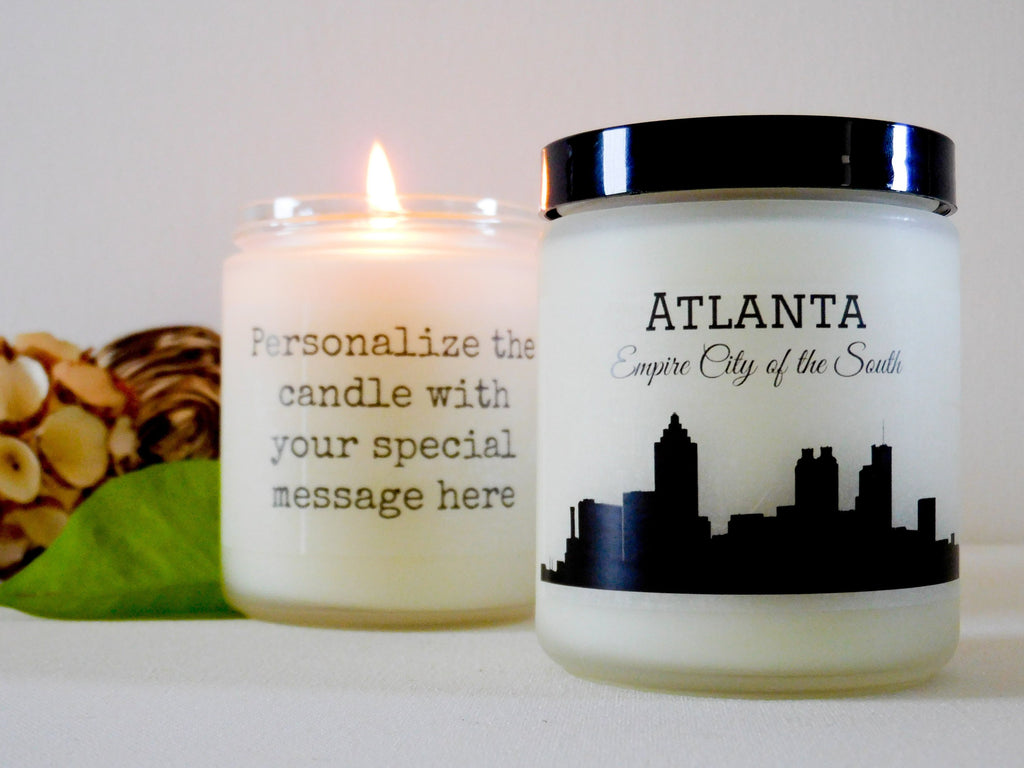 Atlanta Gift Ideas Atlanta Candle Georgia Candle Georgia Gift Ideas Southern Gifts City Gifts Atlanta Souvenir Gift Housewarming Gifts