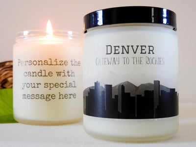 Denver Gift Denver Candle Colorado Gift Colorado Candle Homesick Gift City Gift Souvenir Gift College Gift Student Gift Moving Away Gift