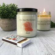 Aries Gift | Birthday Present | Holiday Gift | Soy Candle | All Natural | Zodiac Gift | March Birthday | April Birthday | Gift Under 25