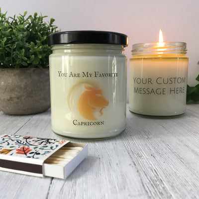 You Are My Favorite Capricorn All Natural 9oz Candle