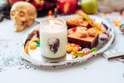 Halloween Candle, Skull Decor, Fall Scented Candle, Spooky Halloween Decor, Party Decor for Halloween - Soy Candle - Vegan Candle