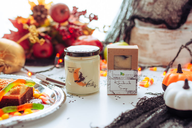 Feeling Witchy Gift Box, Candle Gift, Halloween Decor, Fall Fragrances