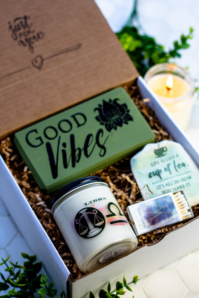 Libra Candle Care Gift Box | All-Natural