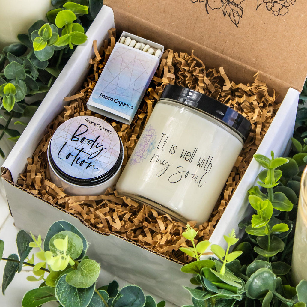 It is well with my soul  Mini Spa Box - Self Care Gift Box