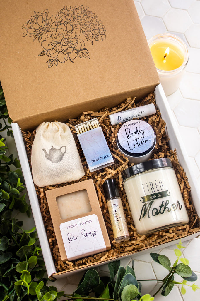 Tired as a Mother - Self Care Gift Box