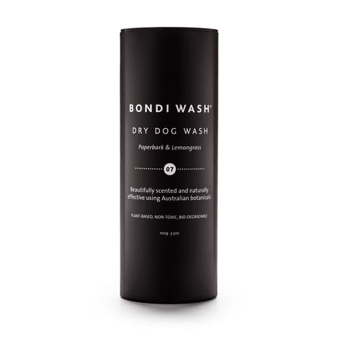 Bali the Dog Bondi Wash Dry Dog Shampoo PLANT-BASED, NON-TOXIC, BIO-DEGRADABLE.