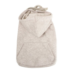 Bali the Dog Classic Hoodie in gray melange, pocket in the back and made from soft cotton. Coolest dog clothes and dog gear from Bali the Dog